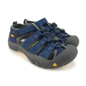 KEEN Youth Boys Newport H2 Blue Sandals Size 3